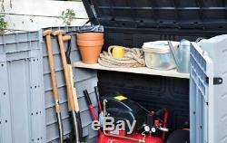 Grand Keter Ace Magasin 4x5 Ft Jardin Rangement Extérieur Remise Garage Cour Arrière Vélos