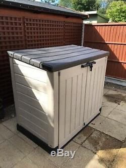 Grand Keter Max Magasin 4x5 Ft Extérieur Jardin Stockage