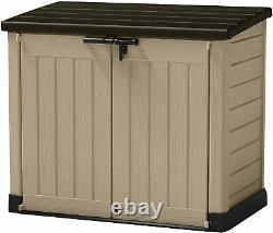 Grand Keter Max Store 4x5 Ft Extérieur Extérieur Stockage Band Garage Backyard Vttes