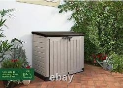 Grand Keter Max Store 4x5 Ft Jardin Extérieur Rangement Shed Garage Backyard Vélos