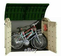 Grand Keter Ultra 6x4 Ft Jardin Extérieur Magasin De Stockage Shed Vélos Garage Utilitaires