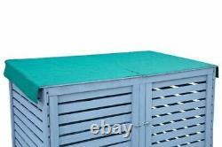 Grand Magasin Jardin Extérieur Rangement Shed Garage Grey