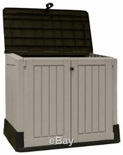 Grand Magasin Keter Jardin Rangement Extérieur Remise Garage Cour Arrière Utilitaires Vélos 845l