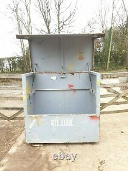 Grand Site Store Coffre-fort Boîte À Outils Garage Coffre-fort, A Besoin Serrures No Key £ 280 + Cuve E49