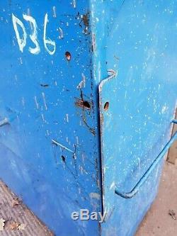 Grande Boîte À Outils Bleu Magasin Site Van Atelier De Camion Vault Garage £ 249 + Tva D36