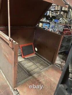 Grande Boîte À Outils De Coffre-fort De Magasin De Site Idéale Pour L'atelier De Garage De Voûte De Ramassage Avec Des Clefs