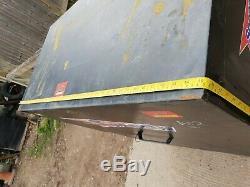 Grande Boîte À Outils Du Site Noir Magasin Camion Fourgon Garage Nécessite Une Attention £ 140 + Tva A12