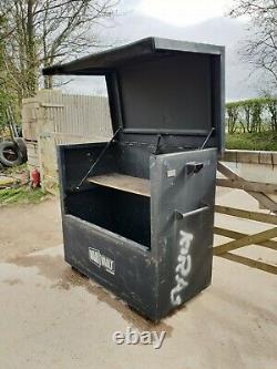 Grande Boîte À Outils Sécurité Magasin Van Vault Garage Atelier A Besoin De 200 + Cuve De A14 De Serrures