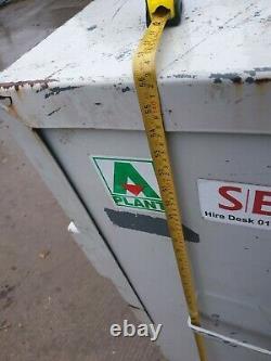 Grande Boîte De Verrouillage De L'outil Magasin Site Van Camion Garage Avec Clé £ 350 + Vat E4