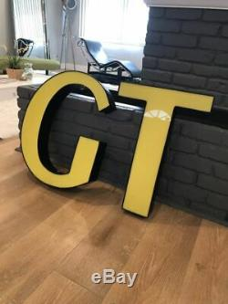 Gt Bicycles Signe Led Affichage Magasin Garage Sous-sol Mancave Signe