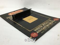 Gunk Dégraissant 13dans Affichage Vintage Publicité Rack Garage Boutique Promo Logo Annonce