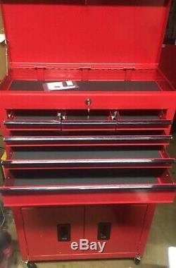 Halfords Bricolage Entreposez Garage Atelier Coffre Cabinet 8 Tiroirs Tool Center