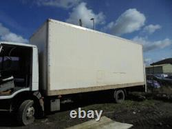 Iveco Eurocargo Shed Store Grp Body Truck Body Garage Spares Or Repairs