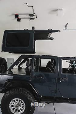 Jeep Hard Top Palan De Garage Intelligent. Soulever, Abaisser Et Stocker Votre Jeep Wrangler