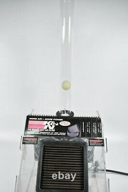 K&n Air Filter Store Démo Machine Ball Air Flow Display Gas Oil Garage Man Cave