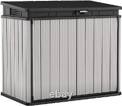 Keter Store It Out Premier XL Outdoor Plastic Garden Storage Shed, Grey Et 141