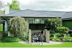 Keter Store-it-out Ultra Extérieur Jardin Rangement Shed Garage Utility Bicyclettes Large