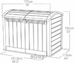 Keter Store-it-out Ultra Outdoor Garden Storage Shed Garage Vélos Utilitaires Grand
