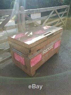 Knaack Boîte À Outils En Toute Sécurité Rigide Site Magasin Van Camion Besoins De Voûte De Garage Fermé £ 150 + Tva