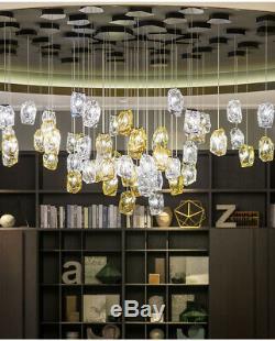 Led En Verre Coloré Pendentif Light Restaurant Magasin De Vêtements Salon Lampe Lustre