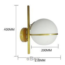Led En Verre D'or Lumière Toilettes Garage Vestibule Stairwell Magasin De Meubles Lampe Mur