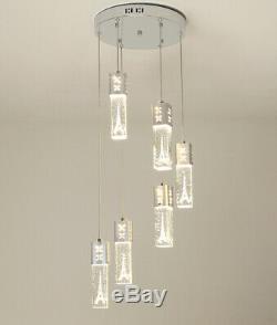 Led Magasin De Vêtements Lustre En Cristal Lampe Bar Exposition Pendent Lumières Fixture