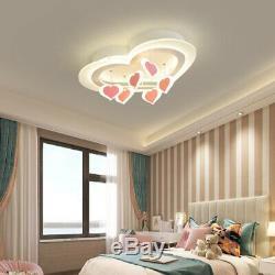 Led Salon Lampe De Plafond D'amour Romantique Magasin D'appareils D'éclairage De Modern Girl