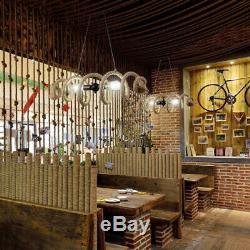 Loft Chanvre Lustre Restaurant Lighting Magasin De Vêtements Plafond Luminaires Pendent