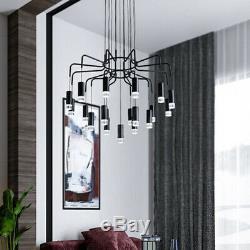 Lustre Nordic Living Room Stairs Pendentif Éclairage Vêtements Lampe Magasin Fixtur