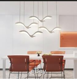 Magasin De Vêtements Light Restaurant Magasin De Meubles Acrylique Oiseaux Led Pendent Lampe