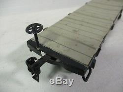 Marklin 2933 1 Calibre Tin Plate Flat Amérique Voiture Service Garage Magasin B64-72