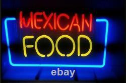 Mexican Food Store Neon Lamp Sign 14x10 Bar Lighting Garage Cave Pub Artwork
