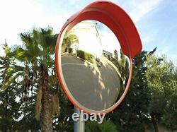 Miroir De Circulation Convex 18 Pour La Sécurité D'allée, De Garage Et D'entrepôt Ou Le Magasin Et