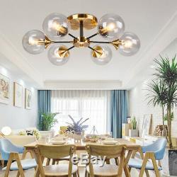 Moderne Cognac Plafond De Verre D'éclairage Magasin Bar Salon Lampe De Plafond Luminaires
