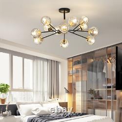 Moderne Dna Glass Ball Chandelier Branch Store Living Room Light Modo Fixtures