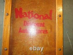National Parts Discount Auto Creeper Vintage 60 Mechanics Magasiner Garage