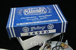 Nos Mallory Conversion Double Point Buick Olds Cad Pont Stude Distributeur De Hot Rod