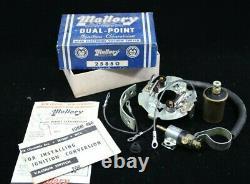 Nos Mallory Conversion Dual Point Mopar Dodge Chrysler Plymouth Desoto Hot Rod