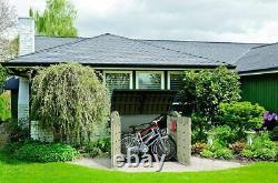 Nouveau Grand XXL Keter Ultra 6x4ft Magasin Extérieur Jardin Stockage Shed Garage 2000l