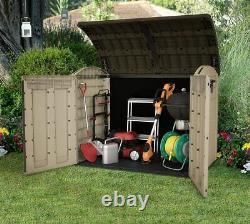 Nouveau Grand XXL Keter Ultra 6x4ft Store Outdoor Garden Storage Shed Garage 2000l