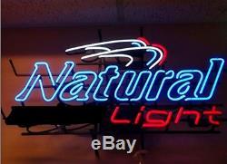 Nouvelle Lampe Lumière Naturelle Néon 17x14 Beer Glass Bar Magasin Garage Affichage