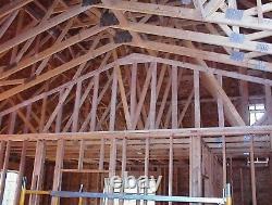 Office Storage Workshop Store Garage Building Kit Prébuilt Wood Frame Kit (en)