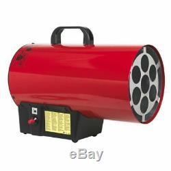 Outils Sealey Lp55 Gaz Propane Souffleur Espace De Travail Chauffe Chaud Shed Garage Magasin