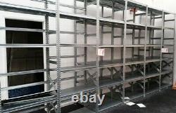 Palette Galvanisée De Récipient De Garage D'entrepôt De Stockage 150cm X 40cm X 250cm