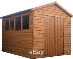 Pinelap Atelier Bois Lourd Garage Apex Ou Pent Shed 20x8 T & G Outdoor Magasin