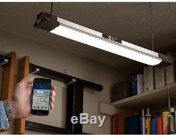 Plafond Encastré Fluorescent Led Light Shop Haut-parleur Bluetooth Accueil Garage Magasin