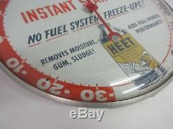 Publicité Vintage À Partir Fluid Pam Clock Co Thermomètre Garage Magasin A-67