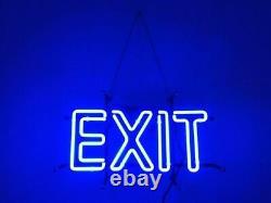 Quitter Neon Lamp Connexion 14x8 Bar Garage Cave Éclairage Magasin Création Verre Mur