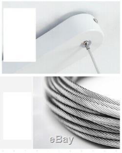 Restaurant Droplight Magasin De Vêtements Magasin De Meubles Led Double Rangée Pendent Lampe