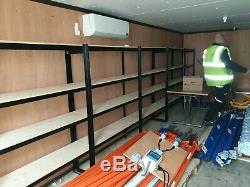 Sécurisé Cabin Ouvrir Le Magasin Both Ends Shed Portable Garage Empilable Conteneur En Acier